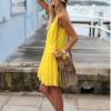 Модные яркие платья