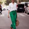 С чем носить зеленые брюки (45 фото)