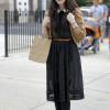 С чем надеть черное платье