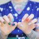Как красить ногти разными цветами