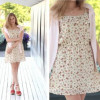С чем носить шифоновое платье