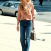 С чем носить джинсы с высокой талией - учимся у звезд (28 фото)