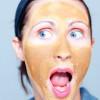 Горчичная маска для лица с огурцом и освежающей розовой водой