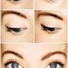 Как правильно рисовать на глазах стрелки