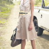 С чем носить платье сафари