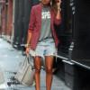 Как носить пиджак с футболкой: секреты стиля