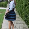 С чем носить юбку-колокольчик, чтобы выглядеть стильно