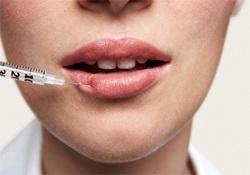 Увеличение губ гелем