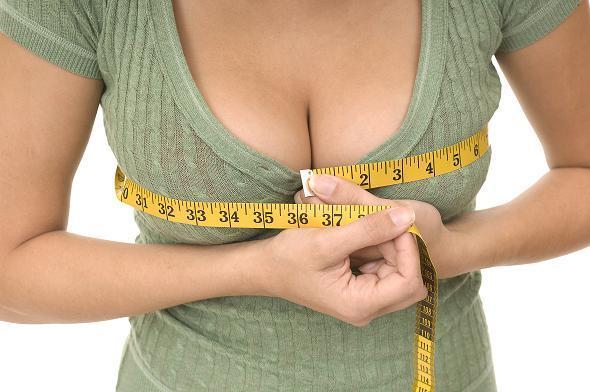 Как бесплатно увеличить грудь