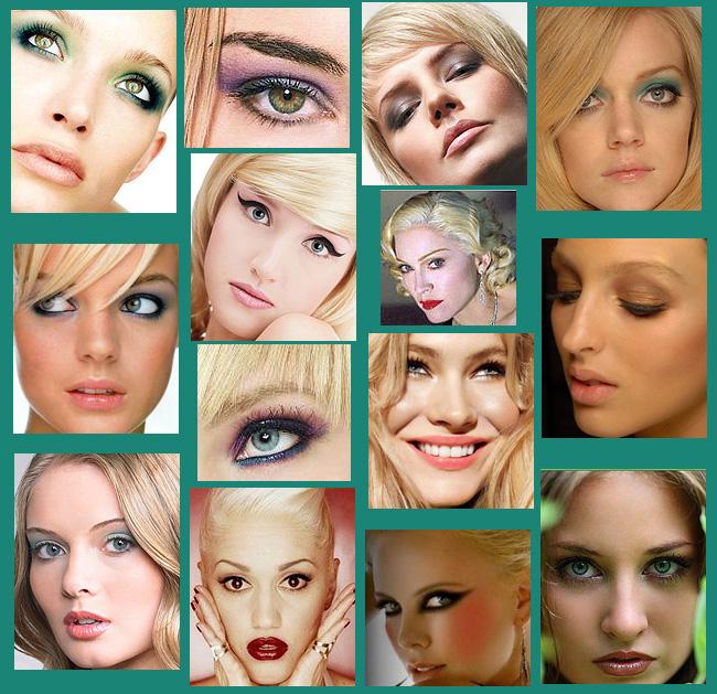 Как сделать макияж блондинке с голубыми глазами