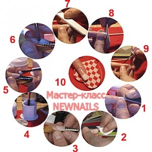 Техника наращивания ногтей