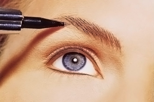 Татуаж обучение макияжа
