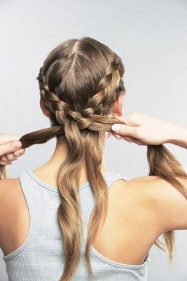 Как сделать косички из волос на голове