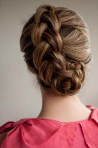 Коса французская