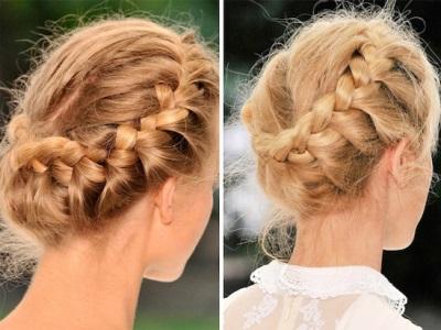 Плетения волос из резинок