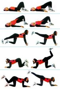 какие упражнения помогут убрать жир со спины