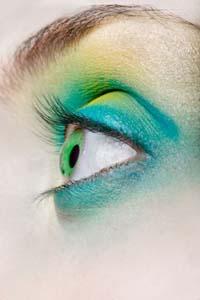 Тени для зелёных глаз