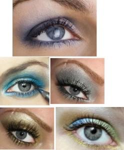 Тени для серых глаз