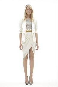 Что одеть с белой юбкой