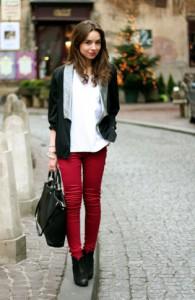 обувь в джинсам