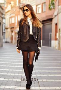 черная юбка фото