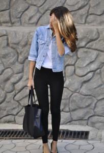 джинсовая куртка фото