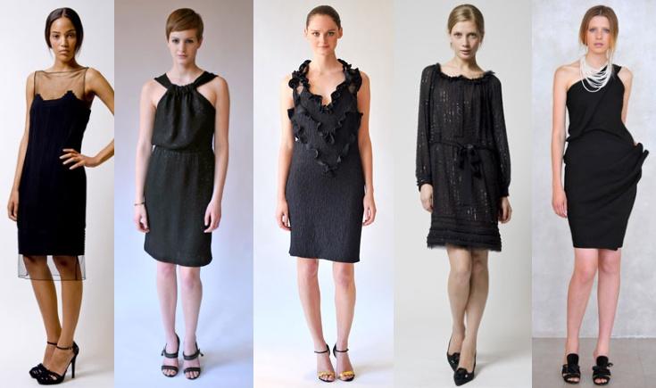 Концепция маленького черного платья