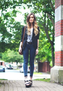 обувь в джинсам фото