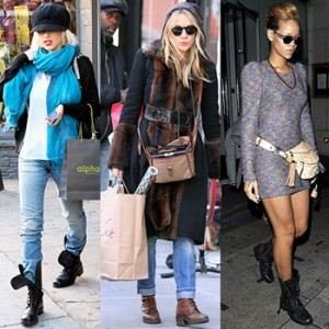 С чем носить ботинки женские