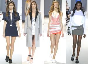 Модные короткие юбки весны 2014 года