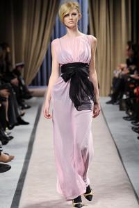 Шифоновое платье 2012