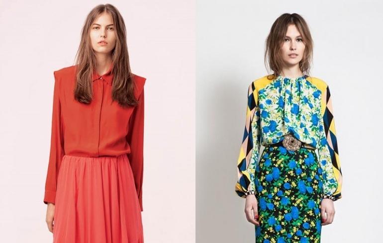 Модные Блузки Лето 2014 В Москве