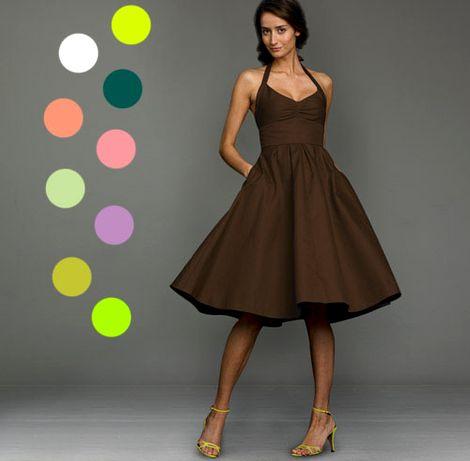 С каким цветом сочетается коричневый цвет в интерьере