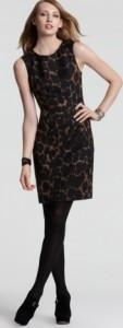 Модные леопардовые платья 2014 года