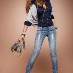 Что одеть с джинсами