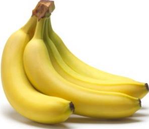 От бананов поправляются