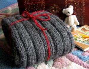 Как связать спицами шарф
