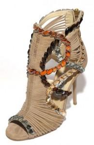 модные босоножки 2012