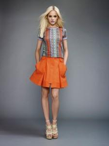 модный цвет одежды 2012