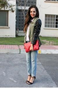 С чем носить голубые джинсы фото