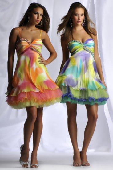 Gt; Версия для печати Летние платья 2012