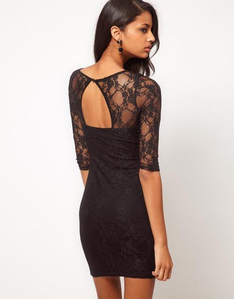 Фото платья с вырезом на спине