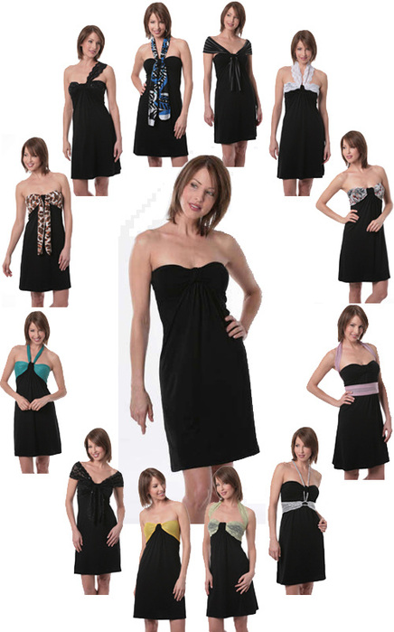 Аксессуары для v образного выреза платья