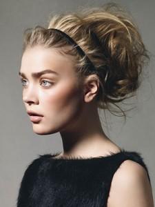 разные прически на каждый день для средних волос