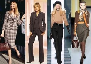 классический стиль в одежде  - женщины