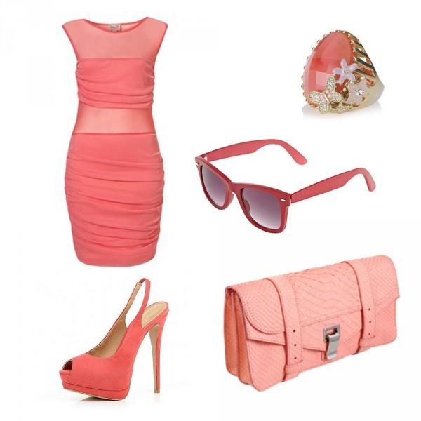 Коралова сумка | Коралловый оттенок розового в