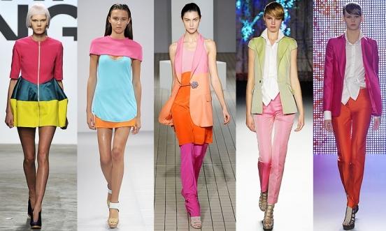 одежда цвета фукси