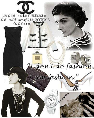 Маленькое черное платье от Chanel картинки
