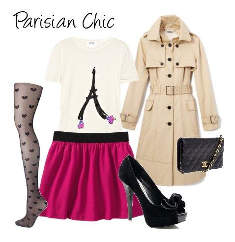 Звезда поп-сцены Дженнифер Хадсон комбинирует розовую юбку с черным
