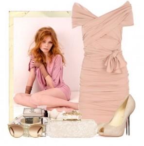 какой цвет сочетается с нежно-розовым